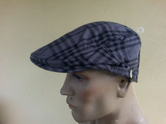 newsboy flat cap checked tweed gatsby baker boy by youareoutthere