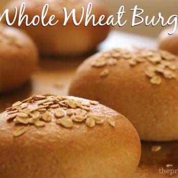 Honey Whole Wheat Hamburger Buns Recipe - ZipList