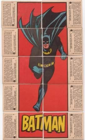 BatCards Red Bats 1966