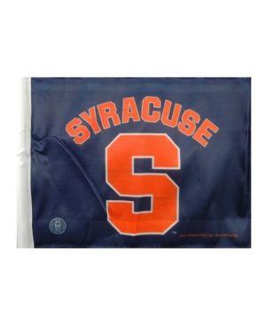 Rico Industries Syracuse Orange Car Flag - Black