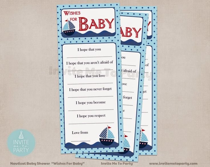 Invite Me To Party: Nautical Baby Shower / Sailboat Baby Shower