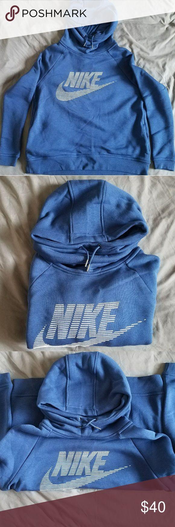 Nike women's rally funnel neck graphic hoodie brand new nike women's hoodie Nike Tops Sweatshirts & Hoodies