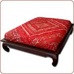 Opium Bed, Opium teak bed, Moroccan bedding, US Based and Ships Nationwide!