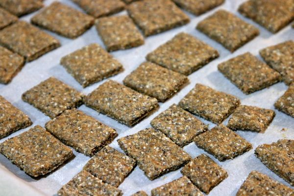 Chia Seed Chips or in this case crackers #chiaseed