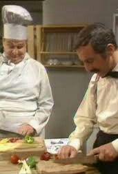 Chef falls in love with Manuel lol