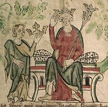 Edward II became King after his father died in 1307.
