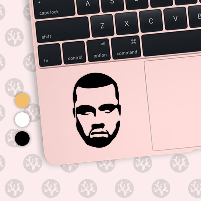 kanye west, kanye west sticker, kanye west decal, kanye decal, kanye sticker, kanye west vinyl, hip hop decal, rap decal, the weeknd decal by CactusDesignsCo on Etsy
