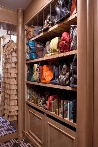 82 Best Bag Storage Images On Pinterest | Handbag Storage, Closet  Organization And Dresser
