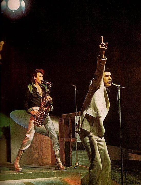 Andy Mackay Bryan Ferry Roxy Music Bryan Ferry Pinterest