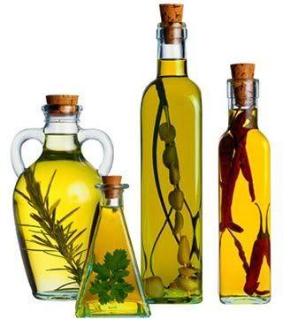 Azeites de oliva infusionados