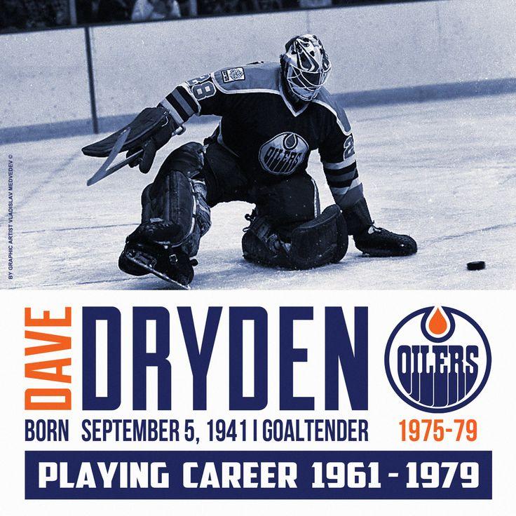 Dave Dryden | Дэйв Драйден #нхл #вха #хоккей #вратарь #голкипер #nhl #wha #icehockey #goaltender #edmontonoilers