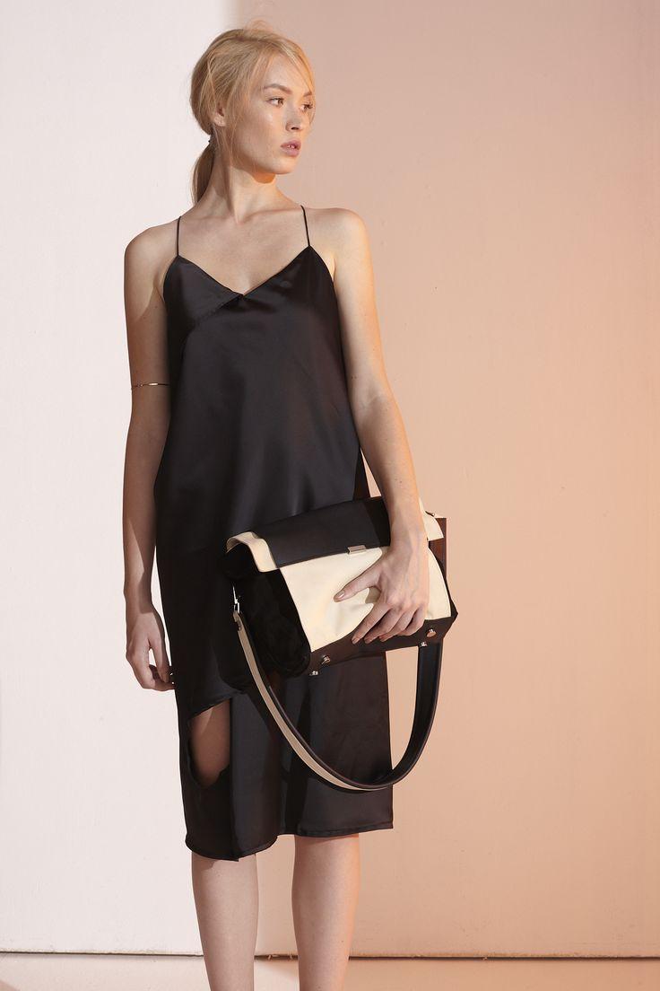 Vegas Dress #thefour #ss15 #littleblackdress photo: balazs mate
