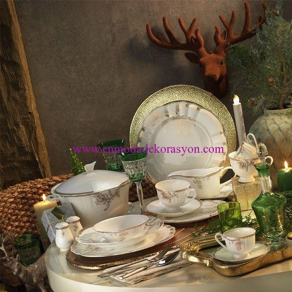 Kütahya Porselen Mitterteich Romance Yemek Takımı