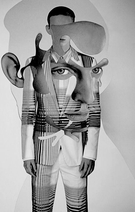 Great collages - #DamienBlottiere #fashion #collage   The Frenchman turns his fashion images into awesome pieces of art. He has worked with the likes of V magazine, Dazed & Confused and Vogue.