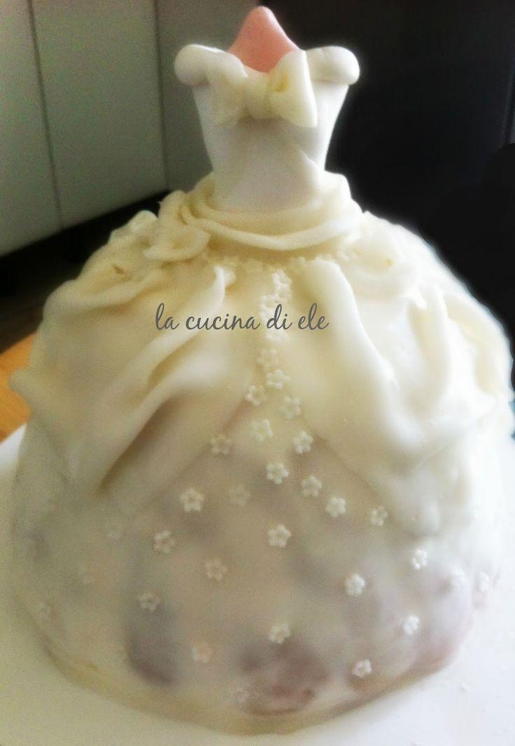 La cucina di Ele: Torta vestito da sposa
