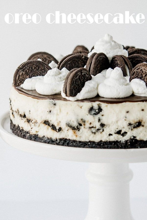 The Best Oreo Cheesecake Recipe Recipe Oreo Cheesecake Recipes Cookies And Cream Cheesecake Oreo Cheesecake