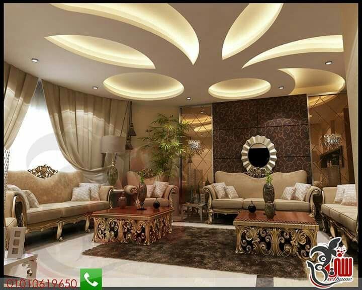 324 Best أسقف Images On Pinterest  Ceiling Design False Ceiling Stunning Design Of Living Room False Ceiling Inspiration Design
