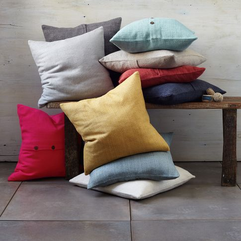 Cushions are great to add even more colour and bring it all together.