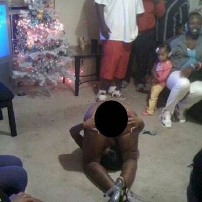 WTF Christmas stripper fun with the whole family? NO ...