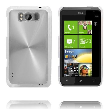 Aluminium Shield (Sølv) HTC Titan Deksel