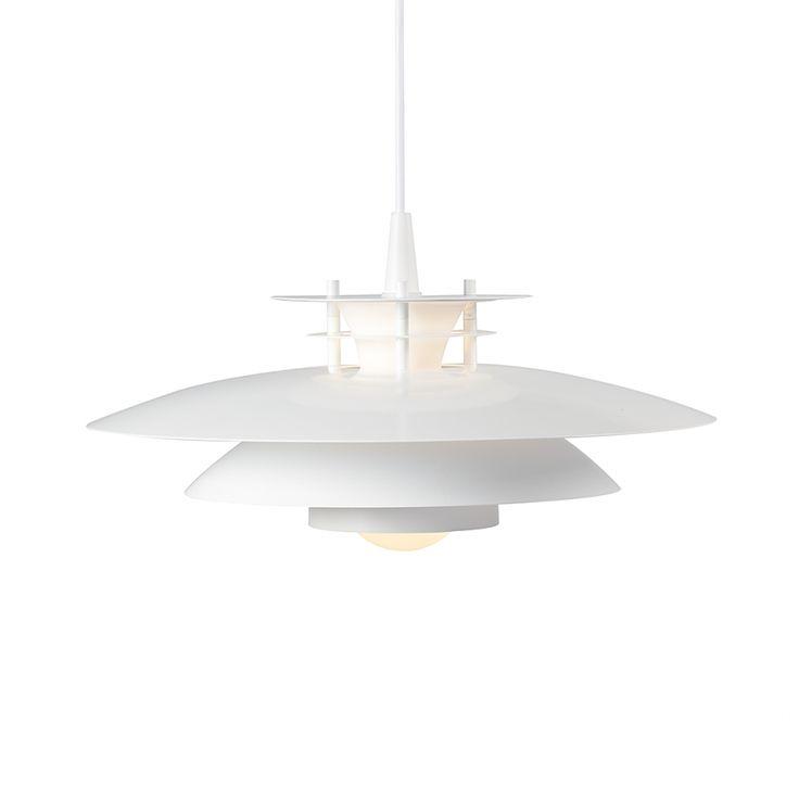 Pendellamp LD 240 - metaal/wit glas home24 merk nordlux