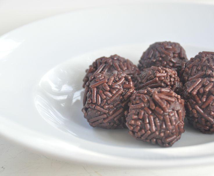 Chocolade truffels volgens oud Hollands recept. Smullen maar!