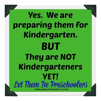 Preschoolers are NOT Kindergarteners! Find out what we think they need to know and what kindergarten teachers want them to know when they step foot into kindergarten.