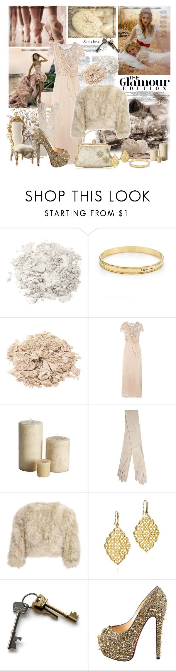 """The keys of the dream"" by pilar-elena ❤ liked on Polyvore featuring Zuhair Murad, Guide London, Stila, Tiffany & Co., Temperley London, Co