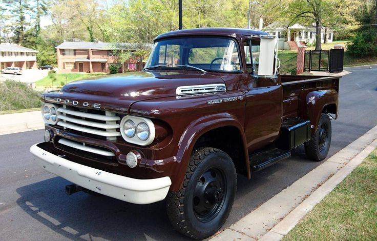 1958 Dodge Power Wagon Power Giant W300