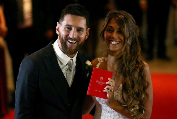 Lionel Messi and Antonella Messi                                          The wedding of the year
