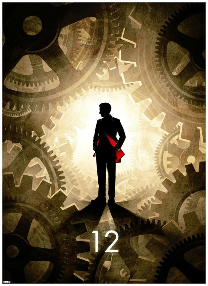 12 incredible Doctor Who posters - the 12th Doctor