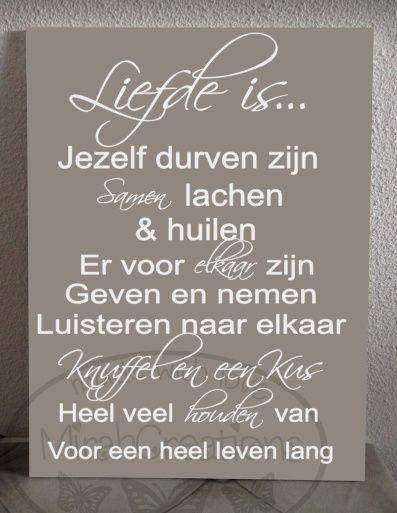 Liefde is Leuk tekstbord te koop bij www.mirahcreations.nl