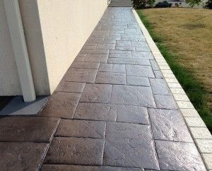 25 best ideas about beton imprim on pinterest terrasse for Carrelage pour allee carrossable