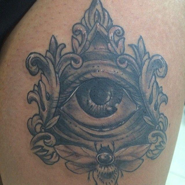 All Seeing Eye Tattoo Designs: 22 Best All Seeing Eye Tattoo Designs Images On Pinterest