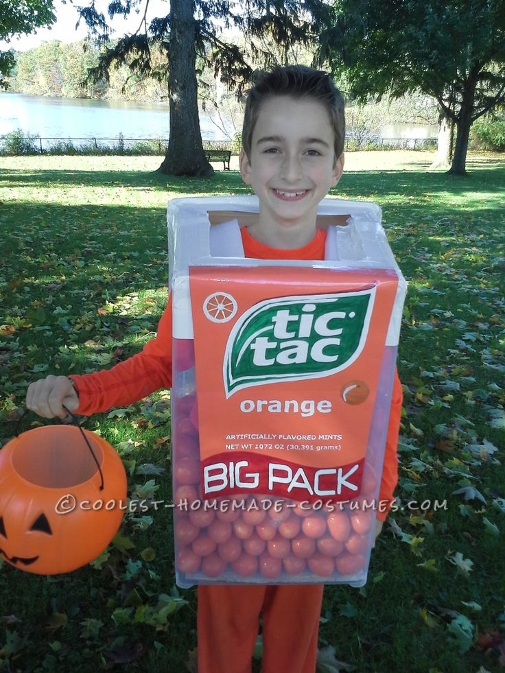 Enormous Tic Tac Container Costume... Coolest Halloween Costume Contest