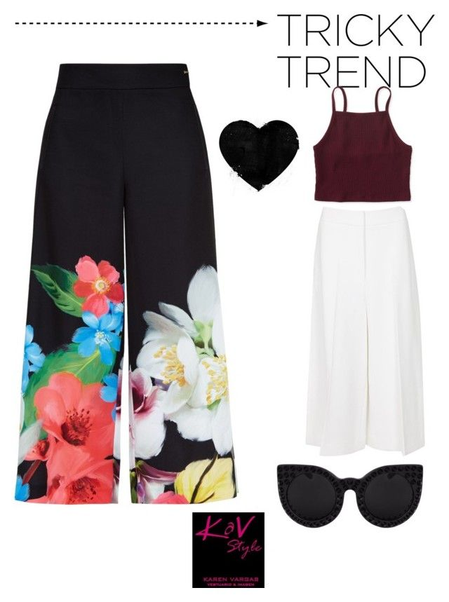 """""""Different styles!"""" by karen-svar on Polyvore featuring moda, Ted Baker, Rosetta Getty, Aéropostale y kavstyle"""