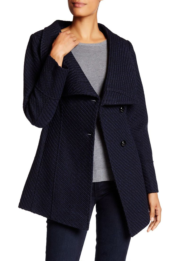 Belted Wrap Coat by Jessica Simpson on @nordstrom_rack
