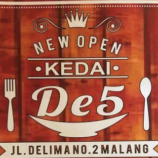 Kuliner Ojek Kilat Malang: Kedai De5