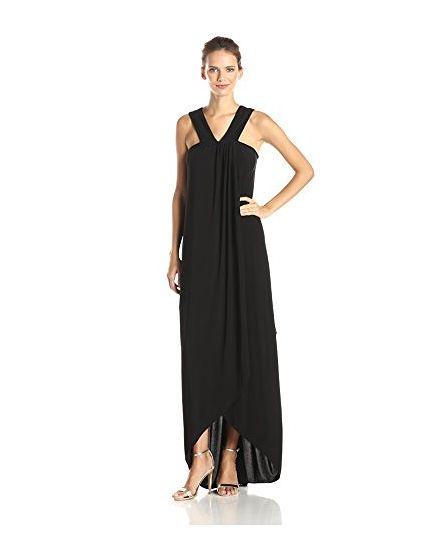 Rachel Zoe Women's Sylvi Side Drape Maxi Evening Gown - was $345.0, now $241.0 (30% Off). Picked by mickster @ Amazon.com