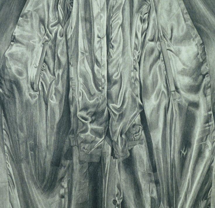 Amanda Robins, Tudor Rose (detail) pencil on Arches, 2006