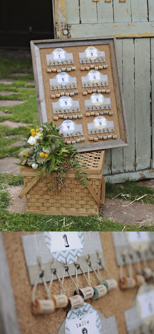 great idea for table seating plan