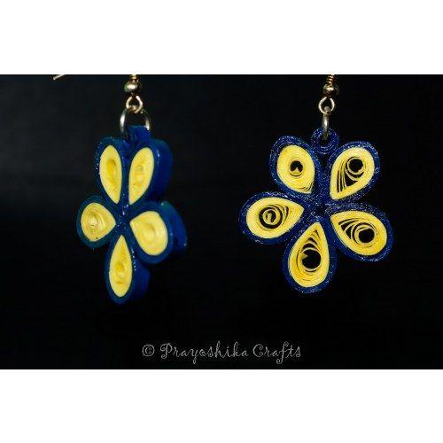 Flower shape earrings...