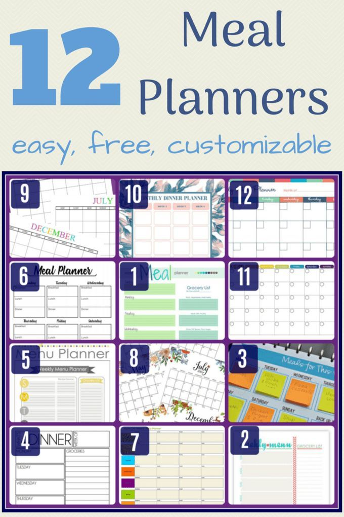 24+ Meal Planning App For Families