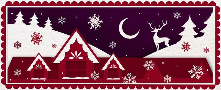 Facebook Christmas banner for 96fm.