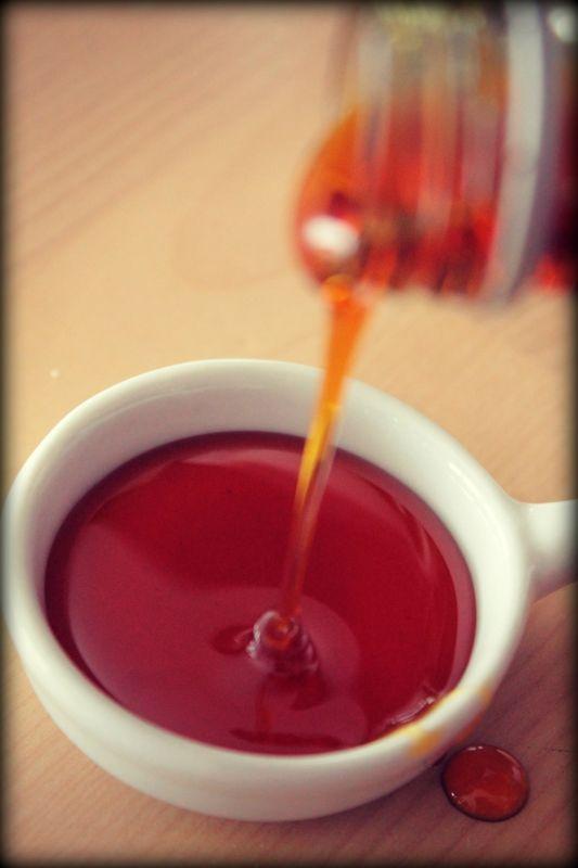 Caramel liquide, recette tupperware