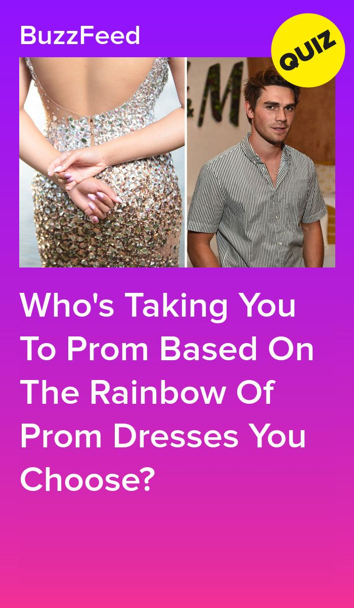 Pick A Rainbow Of Prom Dresses And We Ll Give You A Hot Date
