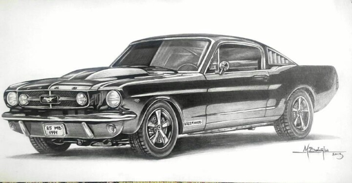 65 Ford Mustang Sketch Sketch Pinterest Mustangs
