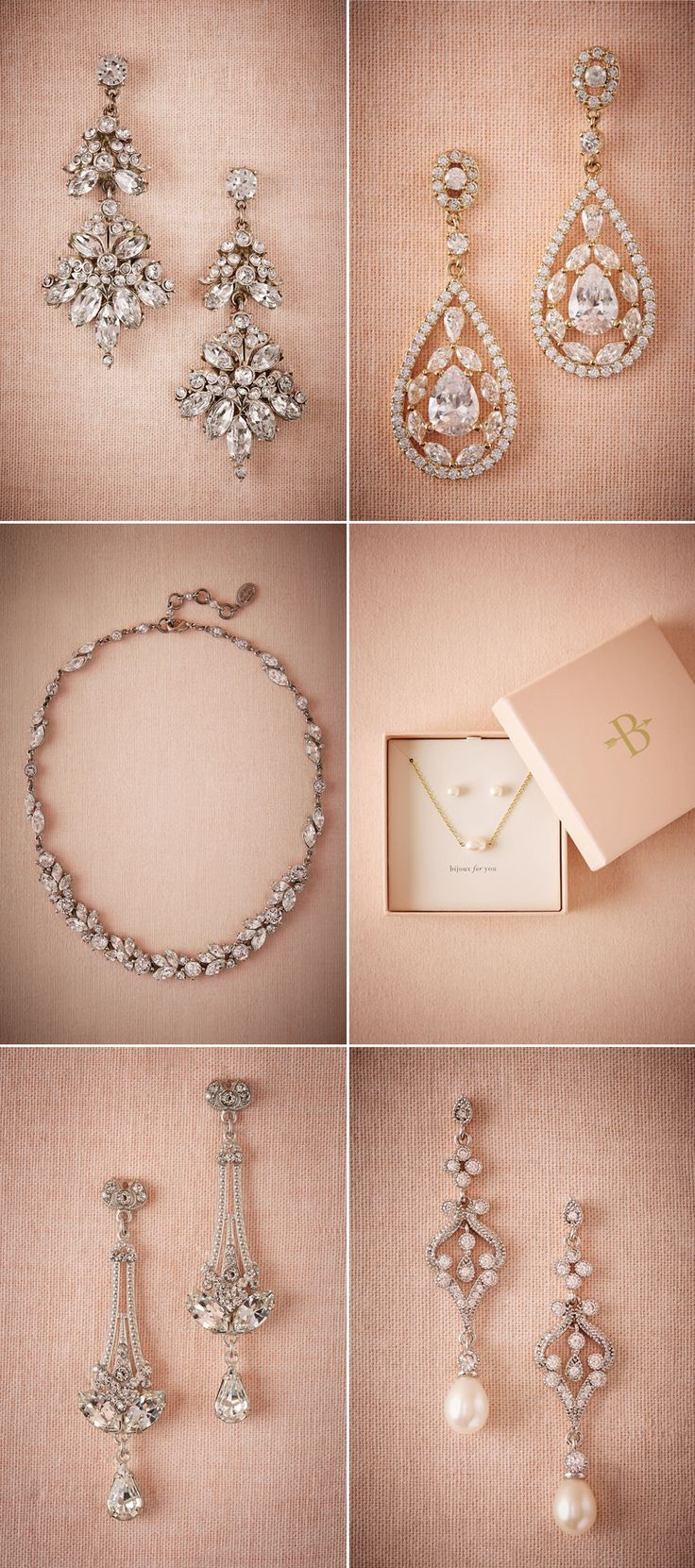 Time to Accessorize! Beautiful Bridal Jewelry Ideas for Every Style!
