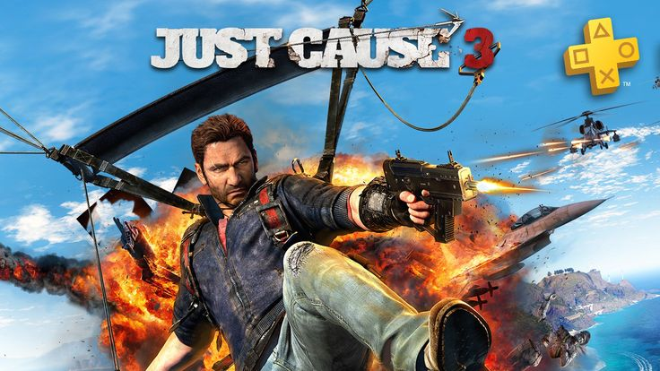 PS Plus: Free Games for August 2017 (Just Cause 3 Assassin's Creed: Freedom Cry Downwell more)
