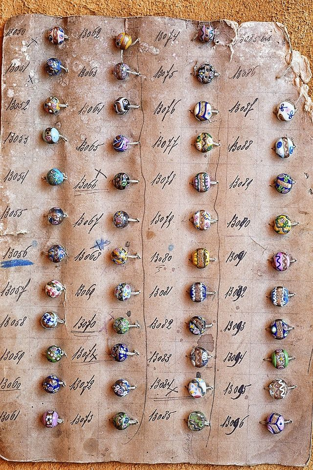 Best Bead Sample Cards Images On   Beading Glass
